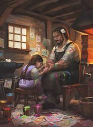 Artists' Workshop by juliedillon