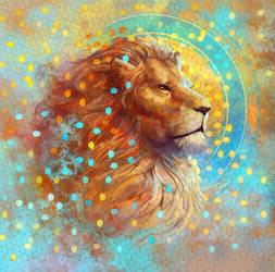 Lion by juliedillon