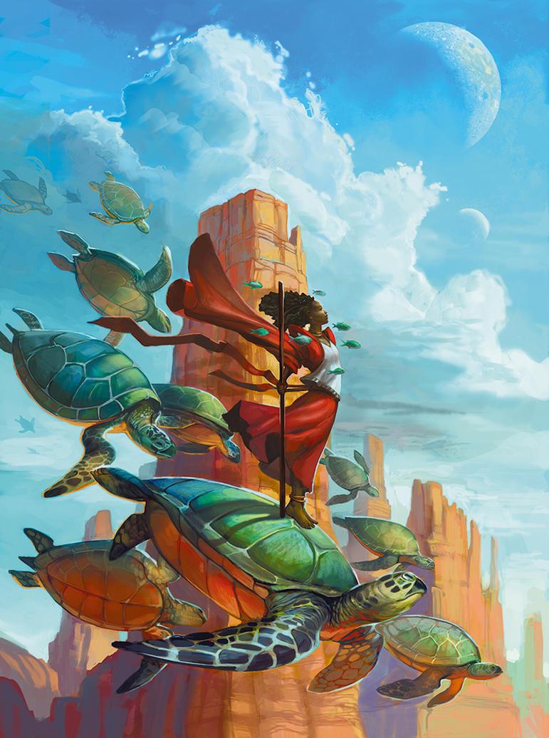 Desert Journey by juliedillon