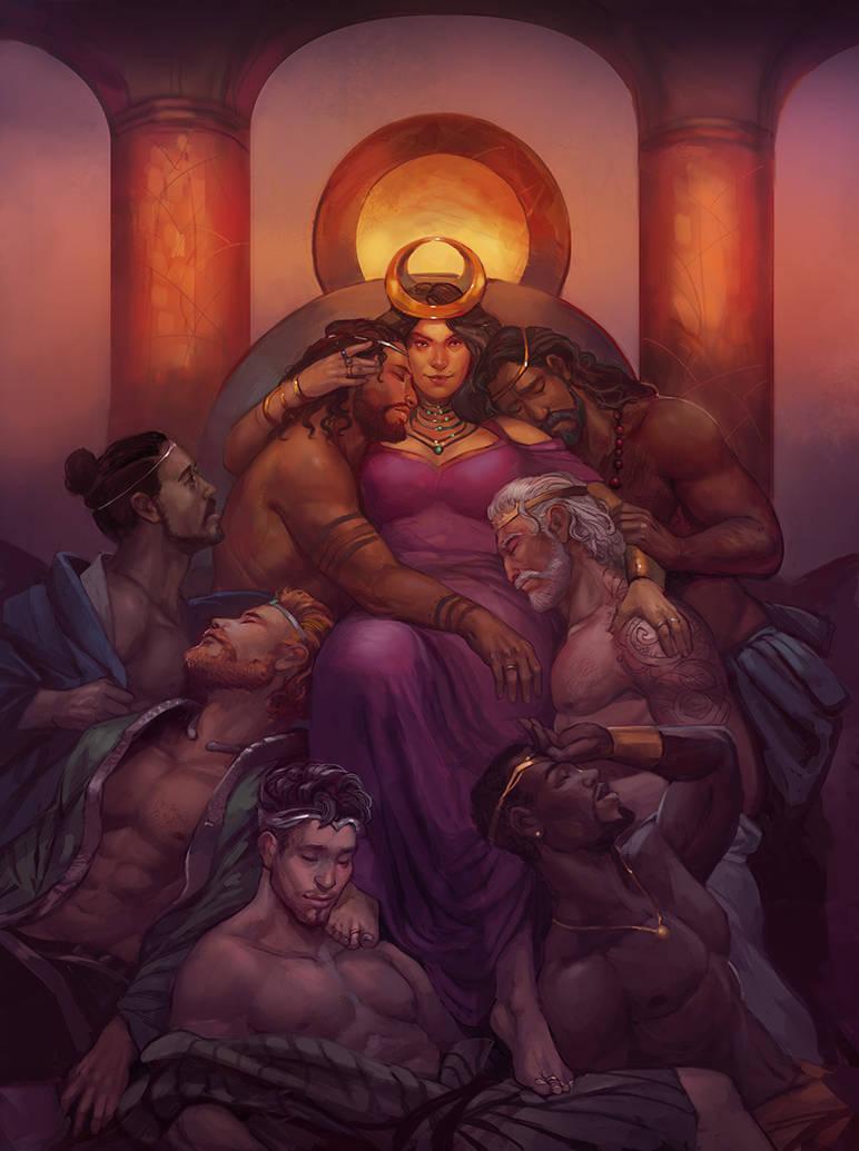 Queen of Seven Kingdoms by juliedillon