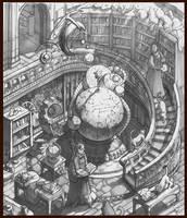 Scholar's Tower by juliedillon