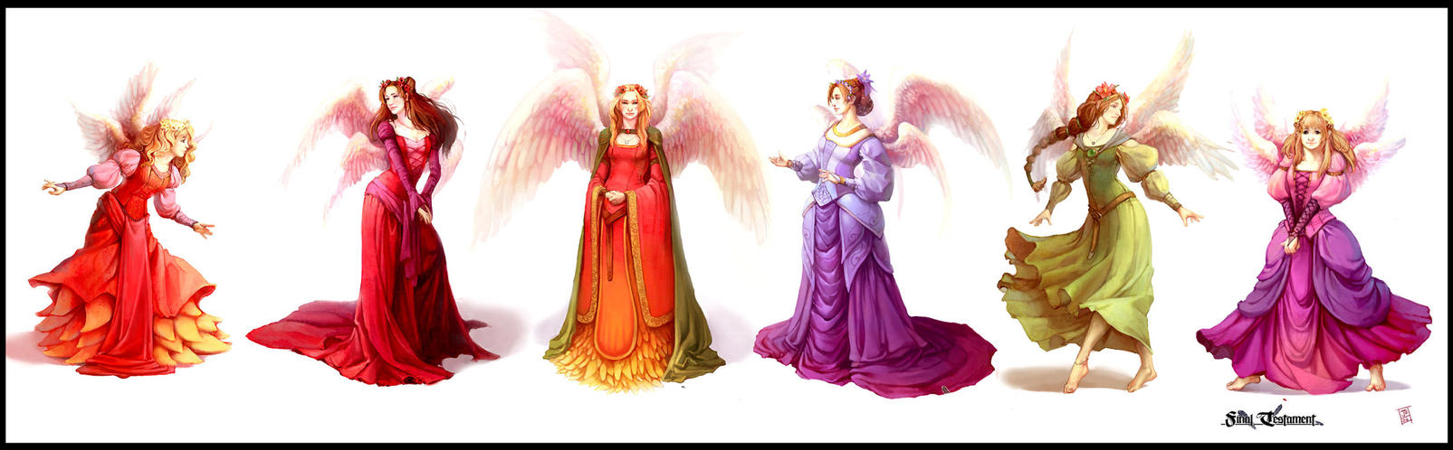 The Six Wings by juliedillon
