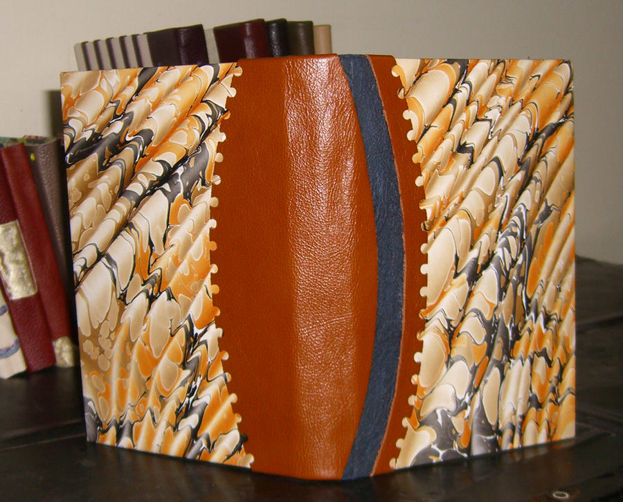 Marbled Steampunk Book by msjbass