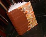 Steampunk Marbled Book