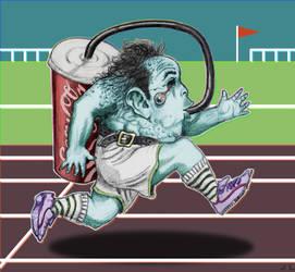 Marathon Michael - (Random Creature Monday) by aroundthewind