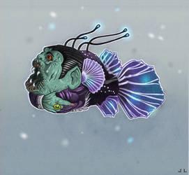 Dracula Fish - (Random Creature Monday) by aroundthewind