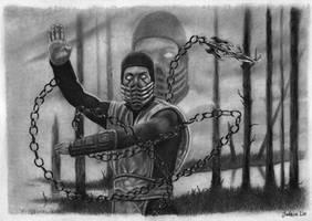 Scorpion - Mortal Combat by aroundthewind