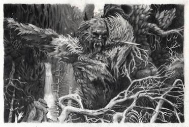 Guardian Ape - Sekiro: Shadows Die Twice by aroundthewind