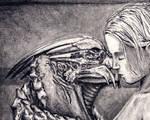 Shepard and Garrus - Detail
