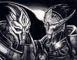 Nihlus and Saren - Echoes