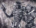 Saren and Nihlus - Allies