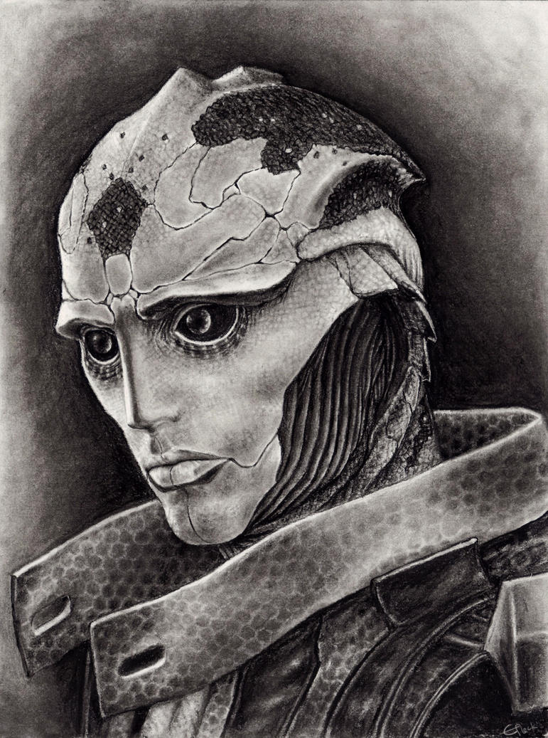 Thane Portrait by efleck