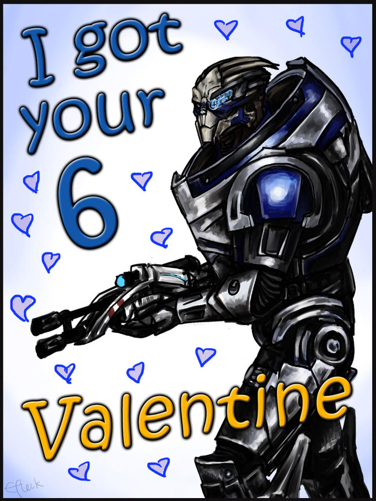 Mass Effect Valentine - Garrus by efleck
