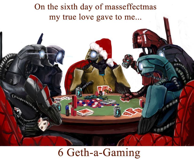 On the 6th day of Masseffectmas... by efleck
