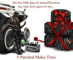 On the 5th day of masseffectmas...
