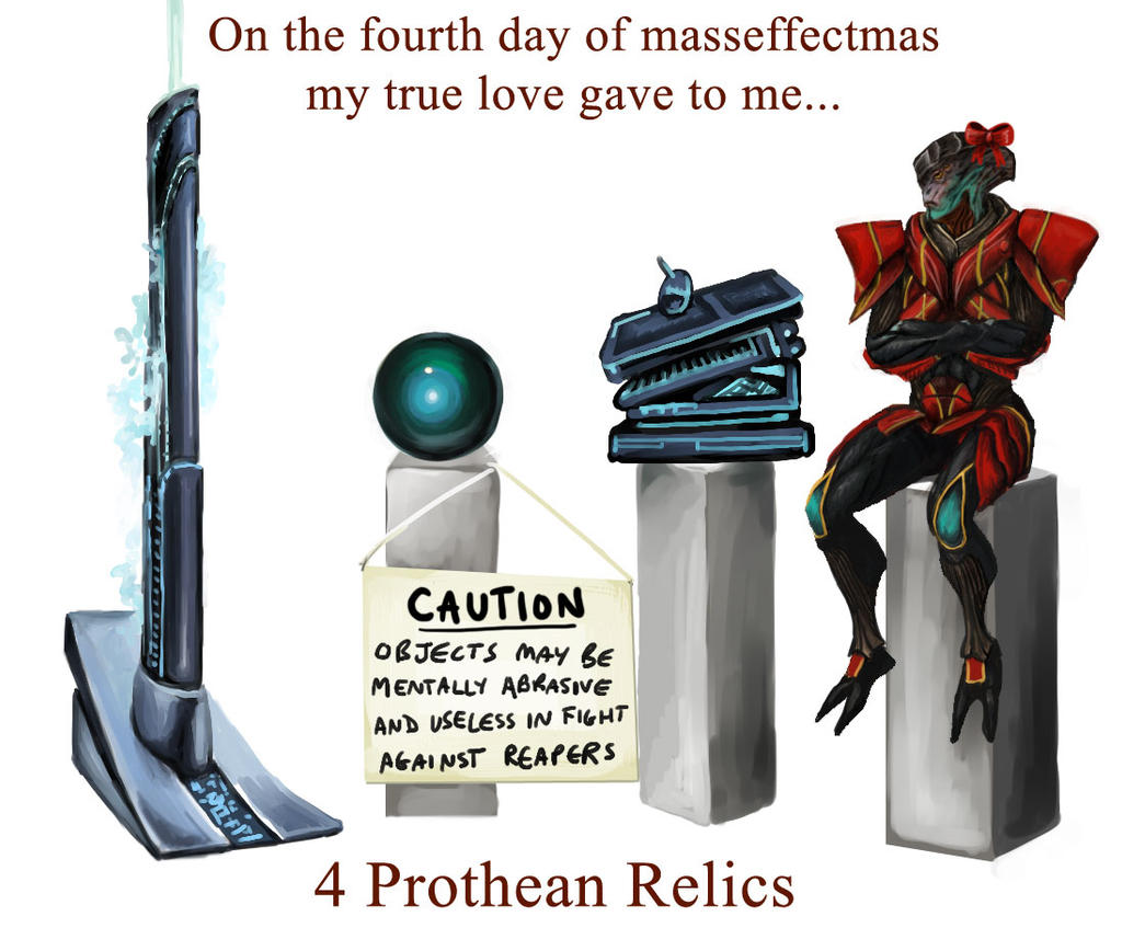 On the 4th day of masseffectmas... by efleck