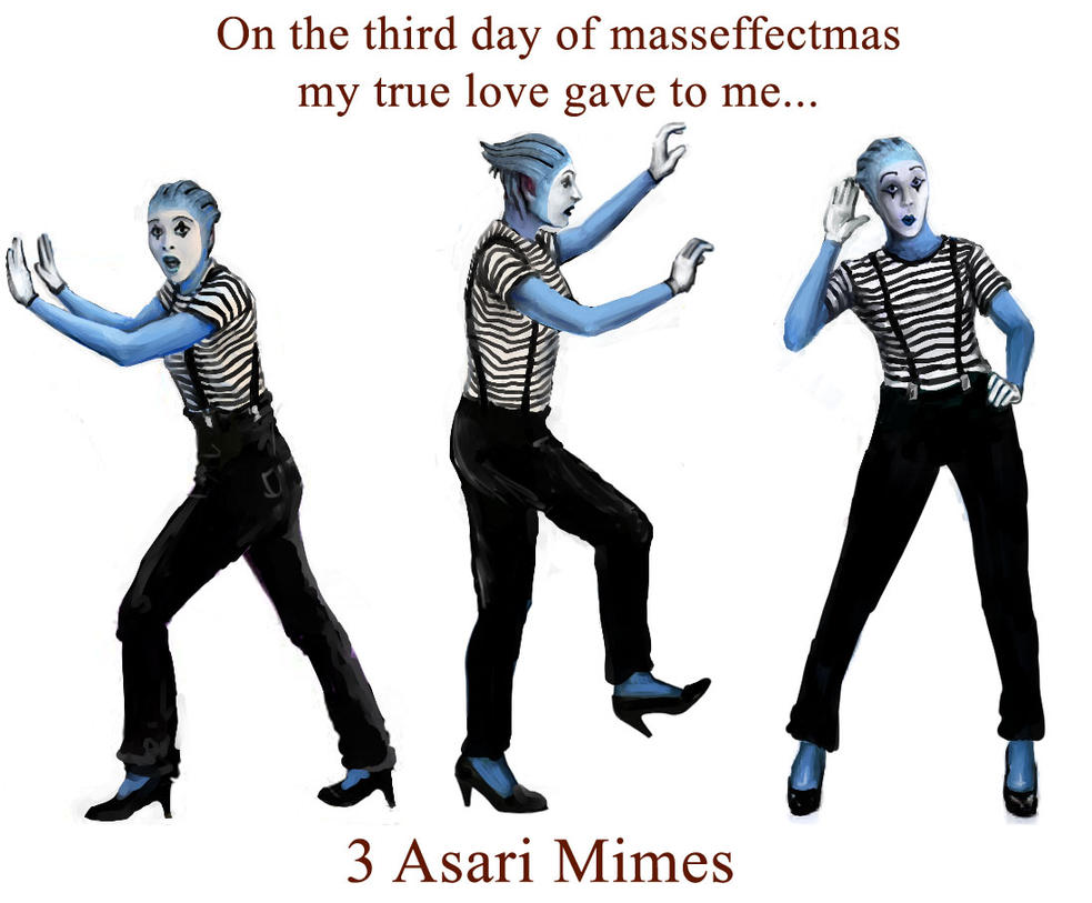 On the 3rd day of masseffectmas... by efleck
