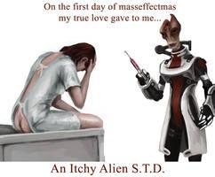 On the 1st day of masseffectmas... by efleck