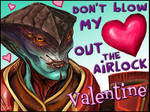 Mass Effect Valentine - Airlock
