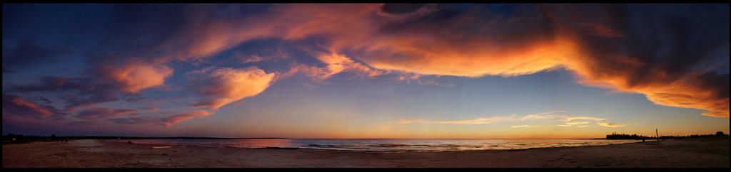 Sauble Sunset in September by efleck