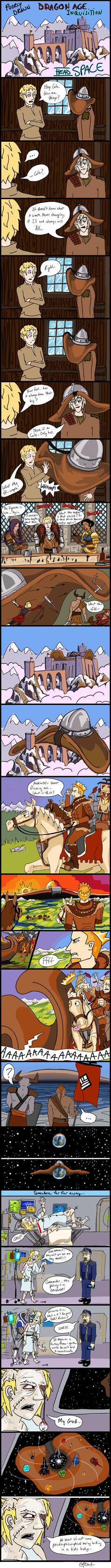 Poorly Drawn Dragon Age: Head Space by efleck