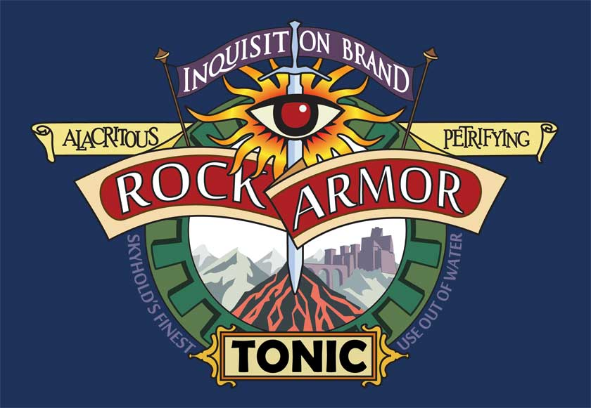 Rock Armor Tonic Logo by efleck