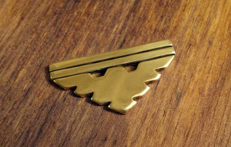 Archangel Symbol in Gold by efleck