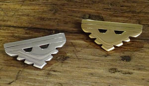Gold and Silver Archangel Pendants