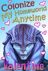 Mass Effect Valentine - Colonize me