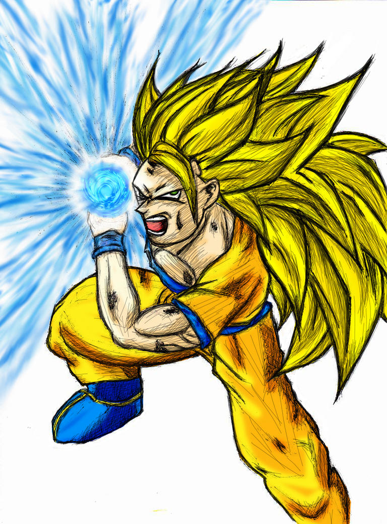 Super Saiyan 3 Goku Kamehameha by asukaevaunit02 on DeviantArt | 768 x 1041 jpeg 339kB