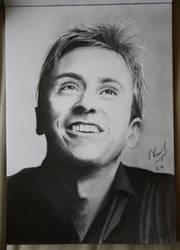 Peter Hollens drawing by Niiina97