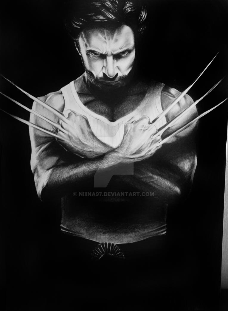 Drawing of Wolverine by Niiina97