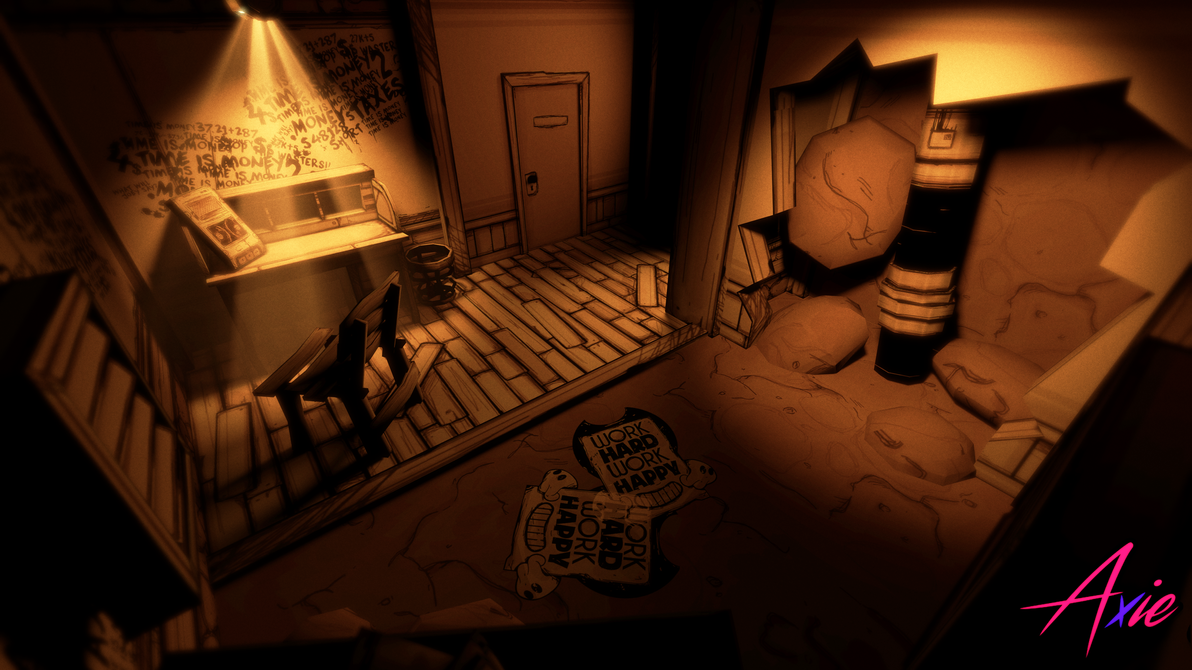 The Management Office  Bendy Chapter 4 Poster by realAxie