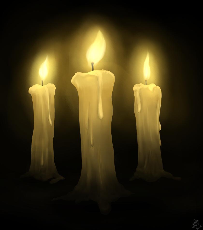 Lighting a Candle. by Alexandoria