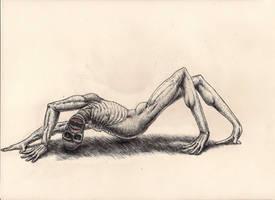 Weird Monster by rhyshaug