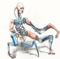 Poorly-designed Cyborg by rhyshaug