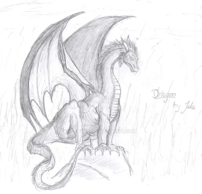 Lohikäärme Piirretty