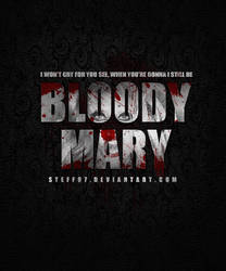Bloody Mary LOGO by stefangrujicic