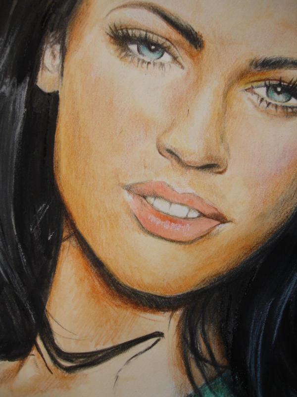 Megan Fox close-up by *Anna-Mariaa on deviantART