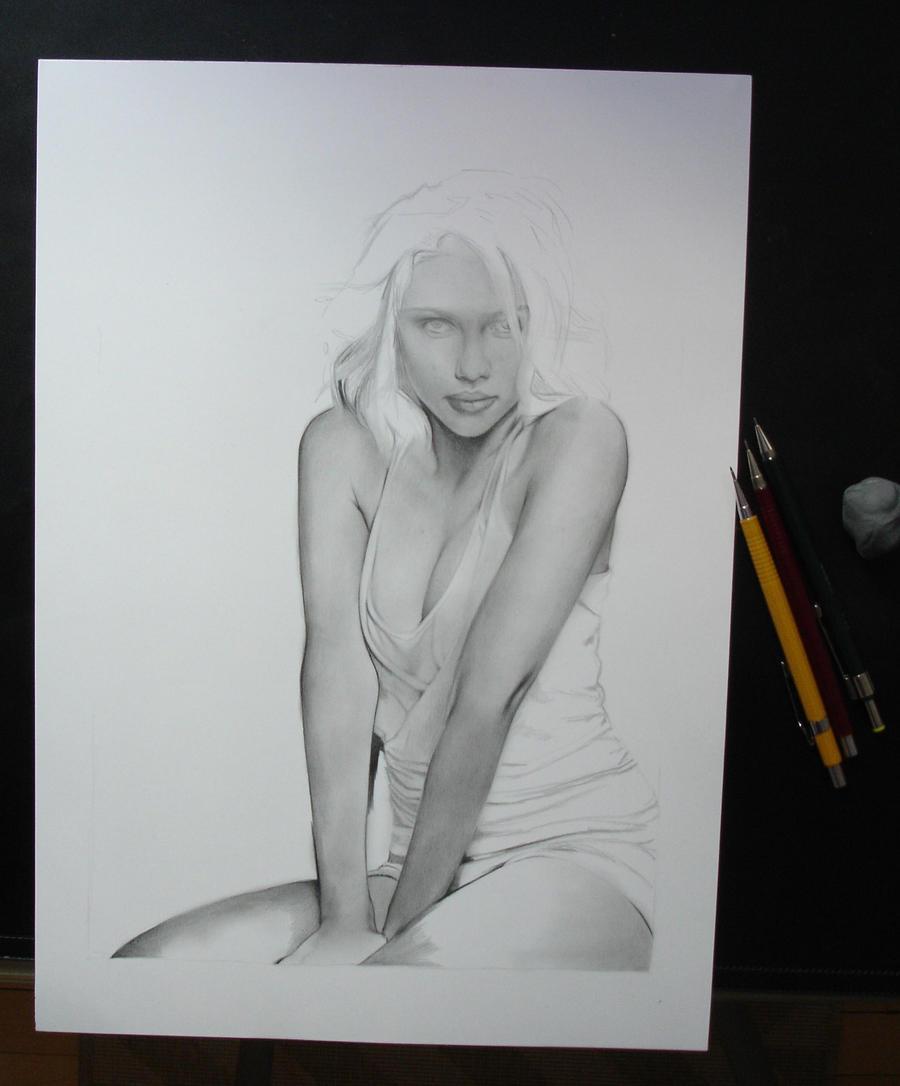 Scarlett WIP by Anna-Mariaa