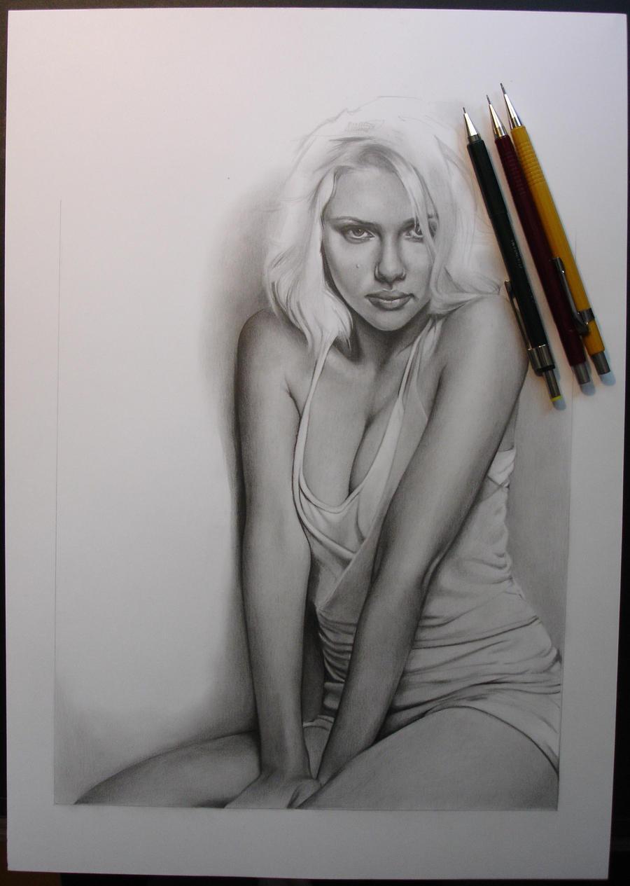 Scarlett WIP 2 by Anna-Mariaa