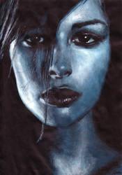 bluewoman