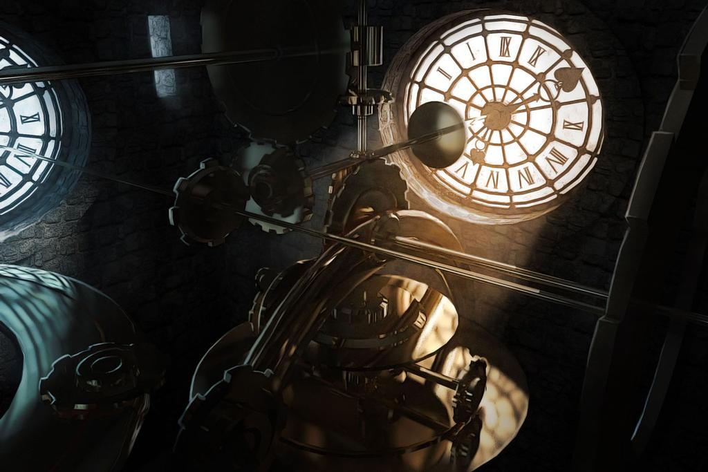 clock tower by MartinNeuhaus