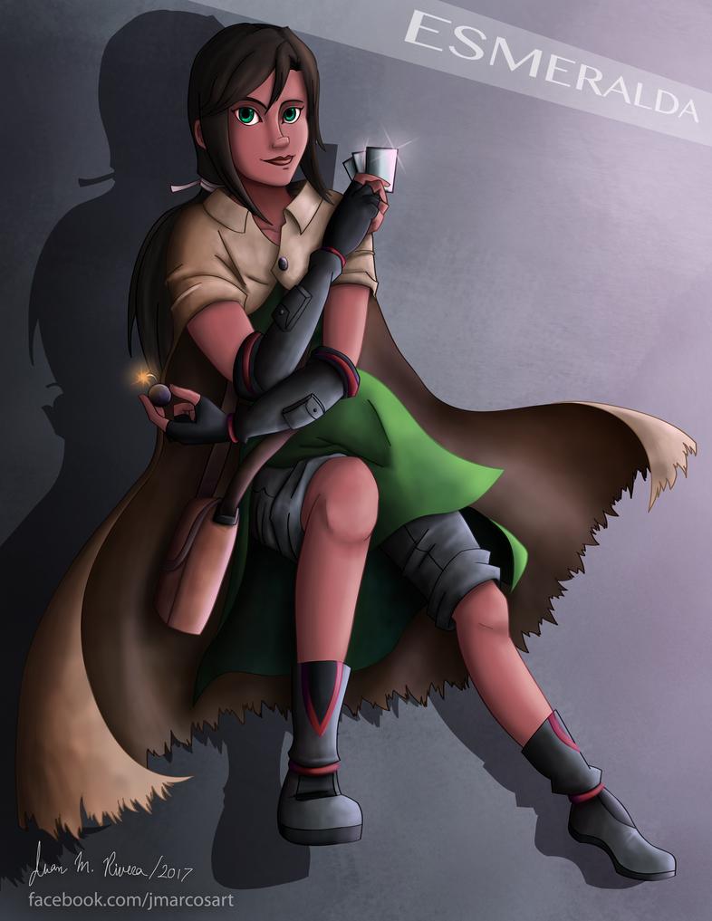Esmeralda by J-Marcos
