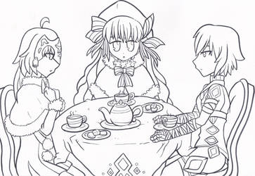 Tea time is serious business