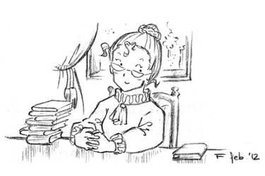 librarian by MizukiStudio