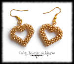 Heart of gold by Cayca