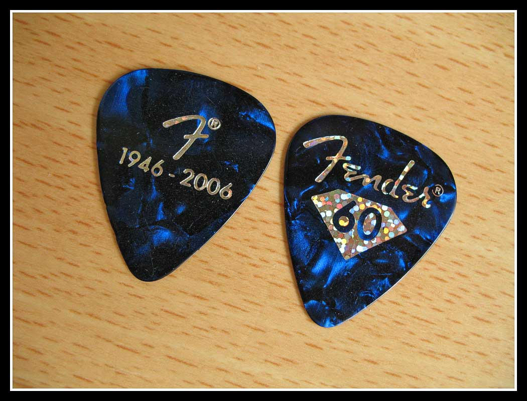 Fender Guitar Pick By Smsmasters