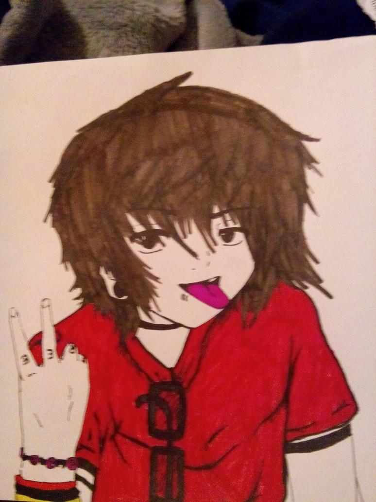christopher drew ingle anime by soullesadventure on deviantART