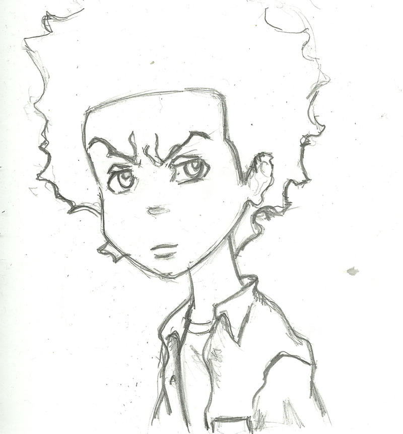 Pin Boondocks Coloring Pages Ajilbabcom Portal On Pinterest Boondocks Coloring Pages